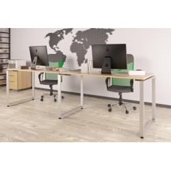 Двойной письменный стол Loft design Q-135-2