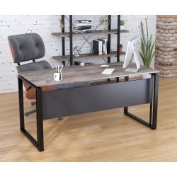 Письменный стол Loft design Q-160 с царгой