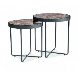 Комплект столиків Manta Мармур