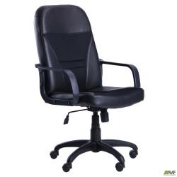 Кресло Анкор Пластик Скаден черный + Сетка