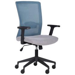 Кресло Uran Black сиденье Сидней-07/спинка Сетка HY-100 черная