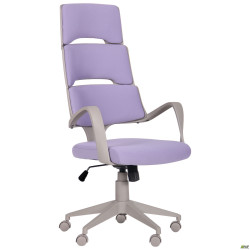 Кресло Spiral Grey сиреневый