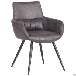 Кресло Concord черный/cowboy PK базальт