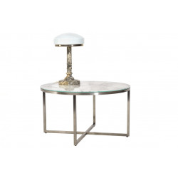 Журнальный стол C-181 белый мрамор Vetro